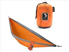 Tribe Provisions Single-Person Rip-Stop Nylon Adventure Portable Hammock Orange