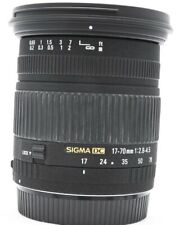 Sigma DC 17-70mm F/2.8-4.5 Lens for Canon EF Excellent No. 1004828