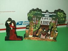 Shelia's Lot Gone with the Wind Wood Embrace & Butler's Atlanta Mansion 1998-99