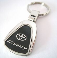 CAMRY KEY CHAIN RING FOB TOYOTA V6 HYBRID SE XLE SEDAN 2015 2016 BLACK NEW