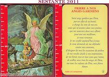 2425 SANTINO HOLY CARD ANGELO L'ANGELO CUSTODE FB PRIéRE ANGES GARDIENS PLASTICA