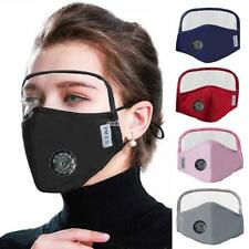 Outdoor Face Protective Face Mask with Eyes Shield +2Filters Unisex Protective C