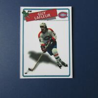 GUY LAFLEUR  CUSTOM   made card style  1988-89  Montreal Canadiens  1989   (# 2)