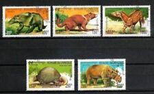Animaux Préhistoriques Cambodge (27) série complète 5 timbres oblitérés