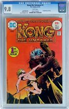 Kong the Untamed #1 (1975 DC) CGC 9.8 NM/MT Bernie Wrightson cover 1st app. Kong