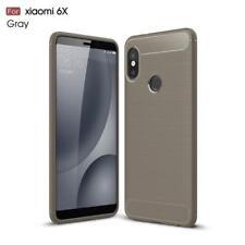 Slim Fiber Carbon Silicone Shockproof Case Cover For Xiaomi Nokia Sony Xperia LG