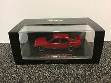 Brabus 3.6S 1988 (190E W201) Red (No. 176) 1:43 Minichamps
