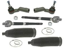 Volvo (04-13) IN+OUT Tie Rod +Boot KIT (6pc) BILSTEIN steering rack bellows link