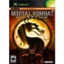 Mortal Kombat Deception Black Label Version XBOX NEW factory sealed