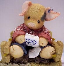This Little Piggy Pen Pals 257605 Nib *Rare* Htf * Free Usa Shipping
