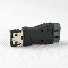 NEW eSATA male jack to SATA 7 pin L female plug connector adapter converter 184