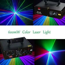 600mW RGB DMX Full Color Laser Light Stage DJ Party Club Lighting