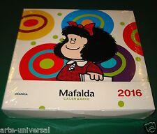 CALENDARIO MAFALDA 2016 SPANISH ESPAÑOL CALENDAR PLANNER AGENDA GIFT BOX (LAST)
