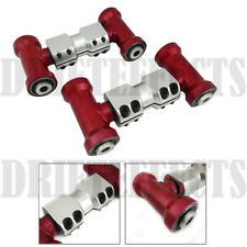 RED FOR 90-96 300ZX Z32 ADJUSTABLE FRONT UPPER CAMBER ARM ALIGNMENT SUSPENSION