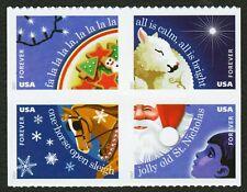 #5250a Christmas Carols, Mint ANY 4=