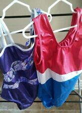 Dance Sports Gymnastics Size L Lot of 2 Girls Leotards Styles Colors Vary