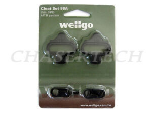 Wellgo WPD-98A 98A MTB ROAD SPD Pedal Cleats Shimano SH51 SH56 Compatible