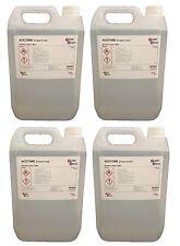 4 x 5L Container Pure Acetone 99.8%