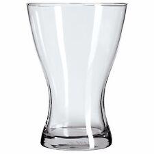 Vasen trasparente vaso di Vetro TULIPANO a forma di vaso di fiori 20CM ALTO
