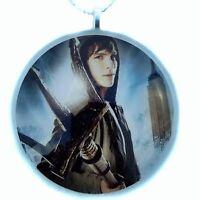 "PERCY JACKSON 2""Glass Circle Christmas Ornament"