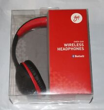 GOJI GOVBT17 Wireless Bluetooth Headphones Black Red Over Ear Skullcandy Hesh 2