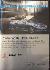 2010-2011 Mercedes E-Class Navigation DVD Map Disk U.S Canada OEM 2014 COMAND