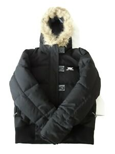 Helly Hansen Ladies Down/Feather Hooded Jacket. Size S.(10 uk). Black. VGC.