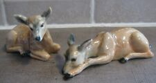 PLEASE HELP IDENTIFYING MAKERS MARK STAMP For These 2 Cute Ceramic Deer