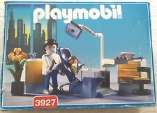 PLAYMOBIL 3927 in BOX - Vintage DENTIST SET OFFICE used but good condition