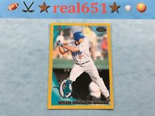 2010 Topps Pro Debut Gold #152 BRIAN CAVAZOS-GALVEZ Rookie-Prospect /50 Dodgers
