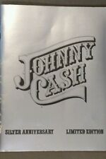 Johnny Cash Silver 25th Anniversary limited edition book signed vintage print xx