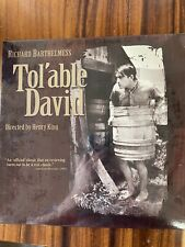 Richard Barthelmess  Tol'Able David Laserdisc (1921) Silent Barthelmess SEALED