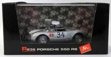Voitures miniatures de tourisme argenté pour Porsche 1:43