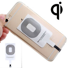 QI Type-C Wireless Power Charging Charger Receiver Adapter For Android iPhone