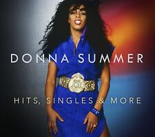 DONNA SUMMER - HITS, SINGLES AND MORE (BRAND NEW DOUBLE CD)