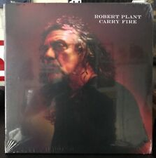 Robert Plant - Carry Fire Vinyl Record LP Led Zeppelin With Bonus Print