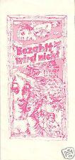 Theaterprogramm, Berliner Ensemble, Bezahlt wird nicht!, 1982