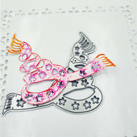 Snowflake Scarf Metal Cutting Dies for DIY Scrapbook Album Paper Cards Making WH