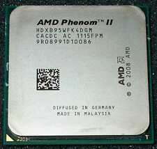 AMD PHENOM II X 4    3.0 GHZ QUAD CORE B95 Processor, HDXB95WFK4DGM, SOCKET AM3