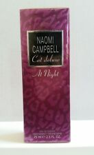 Cat Deluxe At Night by Naomi Campbell 2.5 oz Eau de Toilette Spray New in Box