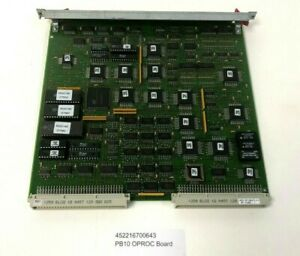 Philips BV300 C Arm 452216700643 PB10 OPROC Board