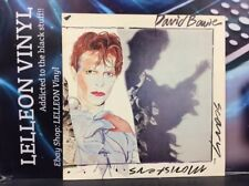 David Bowie Scary Monsters LP Album Vinyl Record PL-13647 Pop 80's 'Fashion'