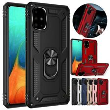 For Samsung Galaxy A71 5G A51 Phone Case Cover Magnetic Support Metal Ring Stand