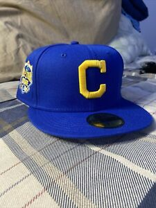 """hat club exclusive 7 1/4 LBJ """"I Want My Respect Too Collection Cleveland Indians"""