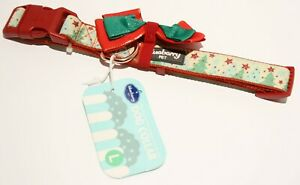 Blueberry Pet Christmas Festival Dog Collar Collection - Embrace Nature Lg