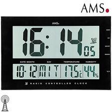 AMS Horloge de table XXL murale radio réveil funktischuhr fonction alarme B 43