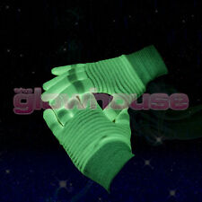 Glow In The Dark Gloves Rave Party Fancy Dress Gloves