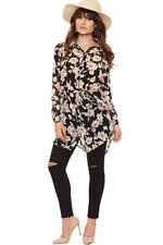 Viscose Regular Size Shirt Dresses