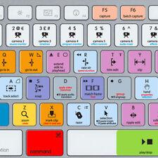 Adobe Premiere Pro CC Clavier Autocollants, Mac, QWERTY UK, US, l'éblouissement-free Vinyle