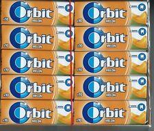 30x Wrigleys Orbit Melon Chewing Gum Full 30 pack 300 pcs
